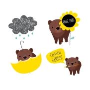 VECTOR ILLUSTRATION - BEAR