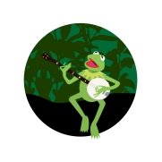 VECTOR ILLUSTRATION - KERMIT THE FROG