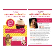 SWEETS BY HOLLY PROMO CARD